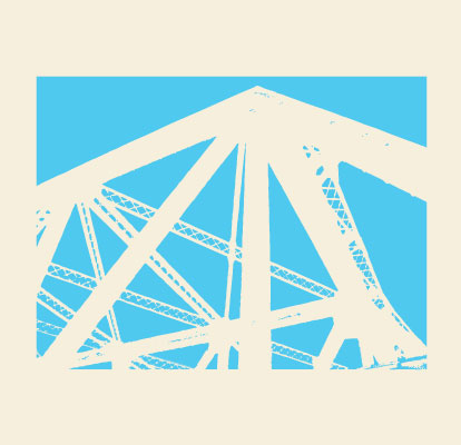 Lodo Train Bridge Illustration Dean Allan Design