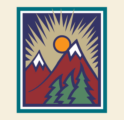 Mountains Illustration Dean Allan Design