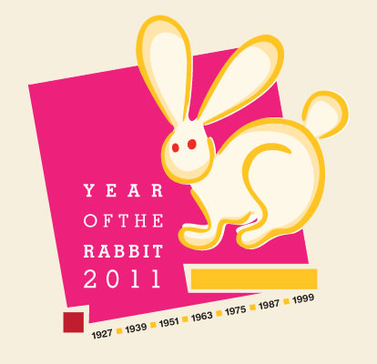 Year of the Rabbit 2011 Dean Allan Design