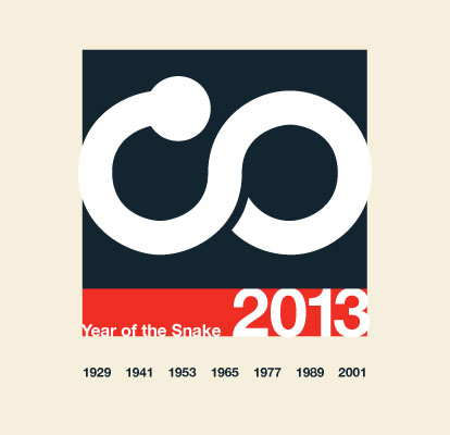 Year of the Snake 2012 Dean Allan Design